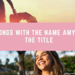 20 Songs With the Name Amy in the Title